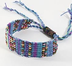 loom bracelets   This week in the weave-along we're making an Affinity Bracelet with ...