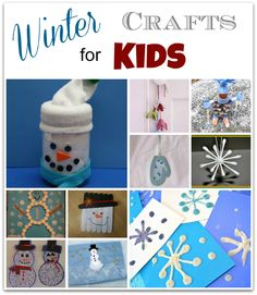 10 Winter #Crafts for #Kids - with MusingsFromaSAHM.com