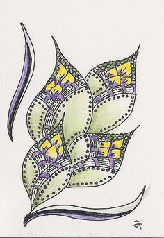 Zentangle by jtheurkauf on Flickr
