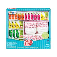 "Baby Alive Super Refill Pack - Hasbro - Toys ""R"" Us $15"