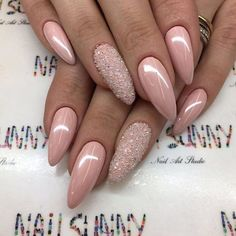 ✨ & on my ig: ❤ pretty nails, sexy nails, Sexy Nails, Nude Nails, Trendy Nails, Pink Nails, Acrylic Nails, Rose Gold Nails, Metallic Nails, Fancy Nails, Coffin Nails