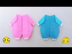 Origami baby suite / พับกระดาษ ชุดเด็กเล็ก - YouTube