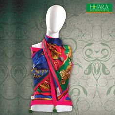 And there is HHARA! #scarf of joy. #fashion #accessories #womenswear Jewel printed #Scarves