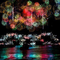 Beautiful Firework Photographs Captured Using Clever Camera Techniques Yokohama Fireworks PP 6