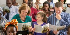 A family struggles to understand the Watchtower Study in a foreign-language congregation