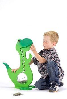 Dinosaur Piggy Bank - Money Box - Kids Money Box - Kids Piggy Bank - Dinosaur -