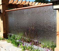 One of the most impressive and relaxing things you can add to your backyard or in your home is a water wall. A water wall is similar to a waterfall or a fountain. Water walls can be built in many Water Wall Fountain, Backyard Water Fountains, Indoor Wall Fountains, Diy Water Feature, Backyard Water Feature, Pool Water Features, Water Features In The Garden, Small Backyard Landscaping, Backyard Ideas