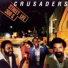 """Crusaders street life Single vinilo 7"""" 45 rpm single vinyl Mercado de la Tía Ní, en Sabarís, Baiona"""