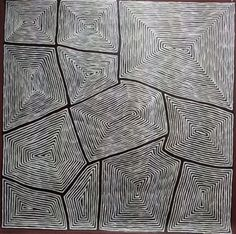 Gundooee - Contemporary Indigenous Art - George Ward Tjungurrayi: