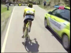 "Skill & grippy tires.... do not try this yourselves....Cancellara's Descent, TdF - 7'35"" mins. - Art and Panache rolled into one!"