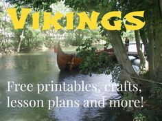 Free printables, crafts, lesson plans and more - A Magical Homeschool Middle Ages History, Study History, Mystery Of History, Vikings For Kids, Vikings Game, Vikings Ks2, Viking Party, History Activities, Learning Activities