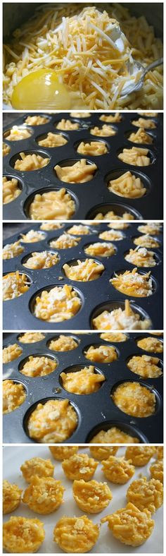 mac and cheese cups - Recipe Favorite                                                                                                                                                                                 More