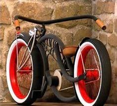 Resultado de imagem para bicycle customized Retro Rad, Velo Retro, Velo Vintage, Vintage Bicycles, Beach Cruiser Bikes, Cruiser Bicycle, Motorized Bicycle, Cool Bicycles, Cool Bikes