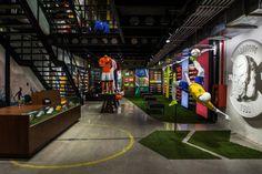 soccer store design | football only store Rio de Janeiro Brazil 03 Nike football only store ...
