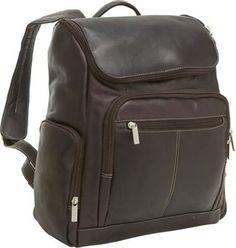 Le Donne Leather Computer Back Pack Café - via eBags.com!
