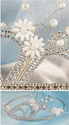 More Bead and Wire Tiara Tutorials - The Beading Gem's Journal