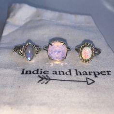 Indie and Harper Cute Jewelry, Jewelry Gifts, Jewelry Box, Jewelery, Jewelry Accessories, Bohemian Jewelry, Luxury Jewelry, Indie And Harper, Moonstone Jewelry