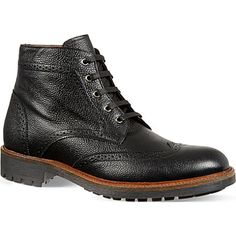 KURT GEIGER - Percy brogue boots | Selfridges.com