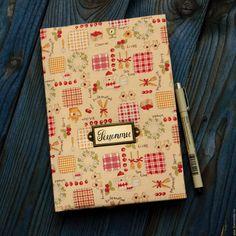 """Купить Кулинарная книга """"Винтаж"""" - рыжий, кулинарная книга, кулинарный блокнот, блокнот, блокнот для рецептов"""
