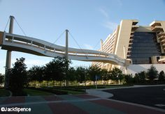 BLT Skyway to the Contemporary Disney World Resorts, Hotels And Resorts, Disney Parks, Walt Disney World, Kidani Village, Bay Lake Tower, Disney Home, Disney Dreams, Orlando Florida