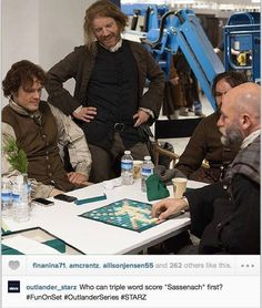 Jamie and Dougal playing Scrabble! This is the best thing i have seen all day!