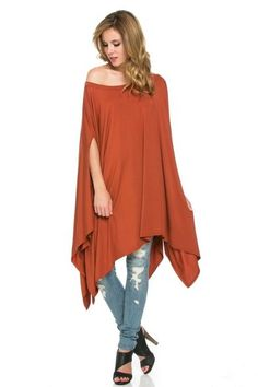 Bethany Livingston - Count On Me - poncho, top, dress