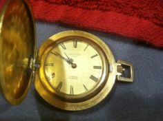 SWISS CROTON 17 JEWELS POCKET WATCH, DATED 1878