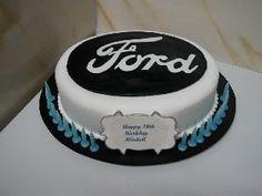 SugarSmith Birthday Cakes For Men, 60th Birthday, Birthday Ideas, Ford Emblem, First Birthdays, Porsche, Cake Decorating, Garage, Sugar