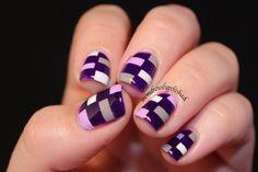 ✽✽ Wondrously Polished ✽✽: 31 Day Nail Challenge - Day 6: Purple