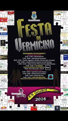 #Sabato 8 ottobre 15.30 - #Festa di #Vermicino presso il #campo sportivo di #Spinoretico #castelliromani