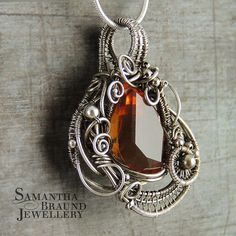 Fire and Ice Necklace | Flickr - Photo Sharing! - Samantha Braund Jewellery