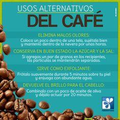 El café, además de deleitar el paladar, también es utilizado en el hogar para resolver algunos problemas del día a día #TipsSaludables