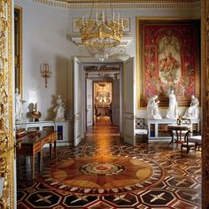 """""""I am completely fixated on the graphic parquet floors in Russian palaces—and I want to design a rug collection based on them."""" - AD100 designer Thomas Pheasant"""