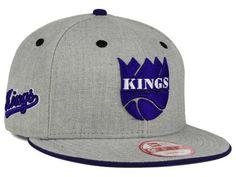 3dca0ca873710 Sacramento Kings New Era NBA HWC Heather Team Color 9FIFTY Snapback Cap  Hats Sacramento Kings