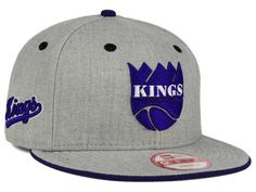Sacramento Kings New Era NBA HWC Heather Team Color 9FIFTY Snapback Cap Hats