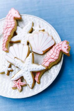 sweet favor idea for a seaside wedding ...maybe different than pink...pretty to pass around.