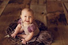 Beautiful sitter romper photography prop by My Darling Emma Photography Props