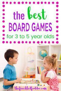 Best Board Games For Preschoolers Fun Board Games Preschool