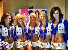 NFL Dallas Cowboys Cheerleaders