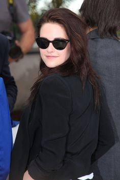 """Kristen Stewart Photos - Kristen Stewart at the photo-call for """"On the Road"""" at the Annual Cannes Film Festival, held at the Palais des Festivals on the famous Croisette Avenue in Cannes, France. - 'On The Road' Premieres at Cannes 4 Palais Des Festivals, Aubrey Plaza, Photo L, Cannes Film Festival, Kristen Stewart, Pretty Girls, Sunglasses Women, Cannes France, How To Wear"""