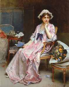 Raimundo de Madrazo y Garreta 1841-1920 the reluctant mistress