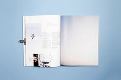 l'ode magazine - diptyque on Editorial Design Served