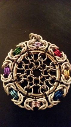 Chainmaille colgante