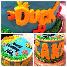 Word world cake...:)