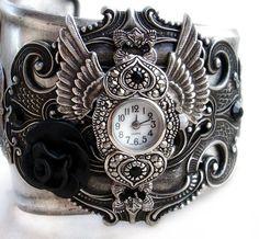 Gothic Cuff Watch ~ I want one!!