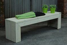 Steigerhouten tuinbank 'Design' - Thuins
