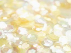 Yellow & White Sparkling Background