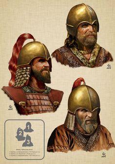 "Helmets "" Kuban type "" 1.Kurgany in st.Kelermesskoy 2.Kurgany in st.Krymskoy. 3.Kurgany in st.Kelermesskoy Balto-Slavica> What were the Scythians?"