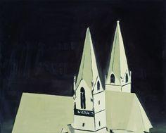 Luc Tuymans (Belgian, b. 1958), Church, 1990. Oil...)