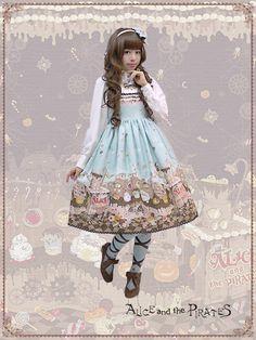 Tricky Nightmare Factory jumper skirt Ⅱ.